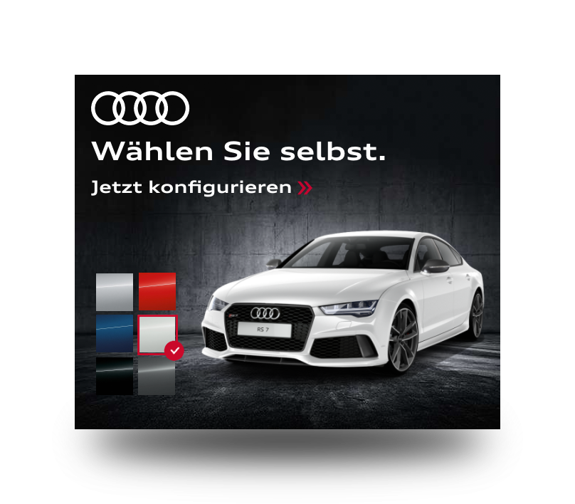 DCO Campaign For Audi Switzerland Powered By LemonPI